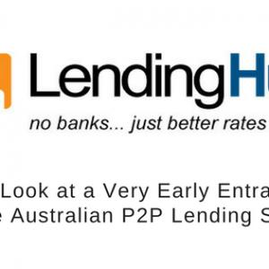 LendingHub Australia's First P2P Lending Platform