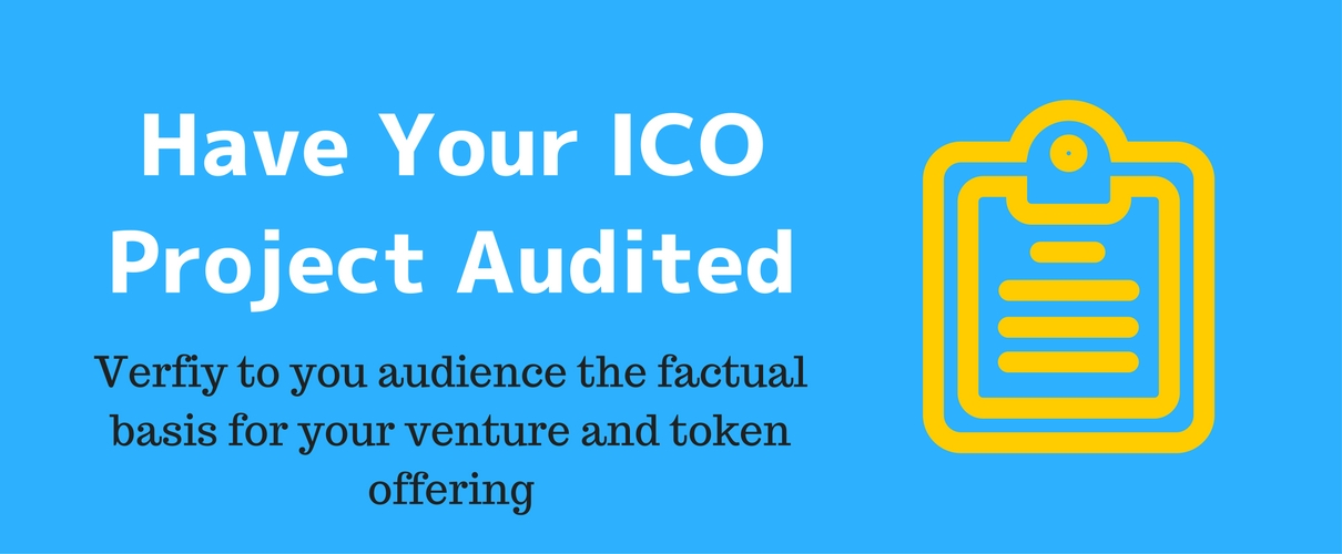 ICO Audits - Project Due Diligence