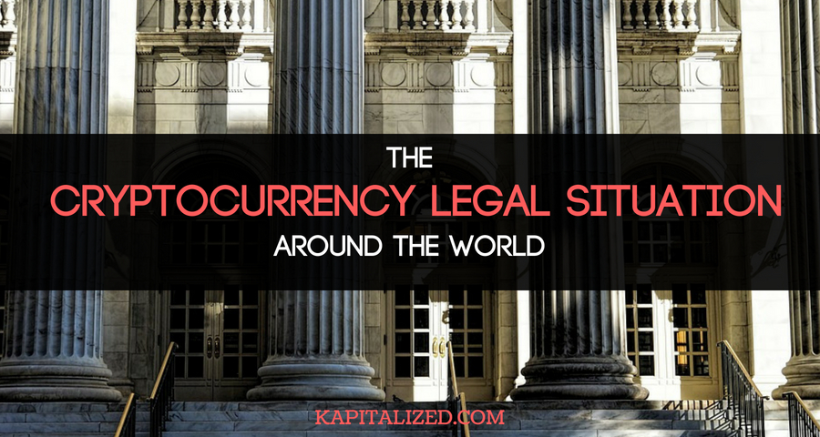 The Legal Situation of Cryptocurrencies Around the World
